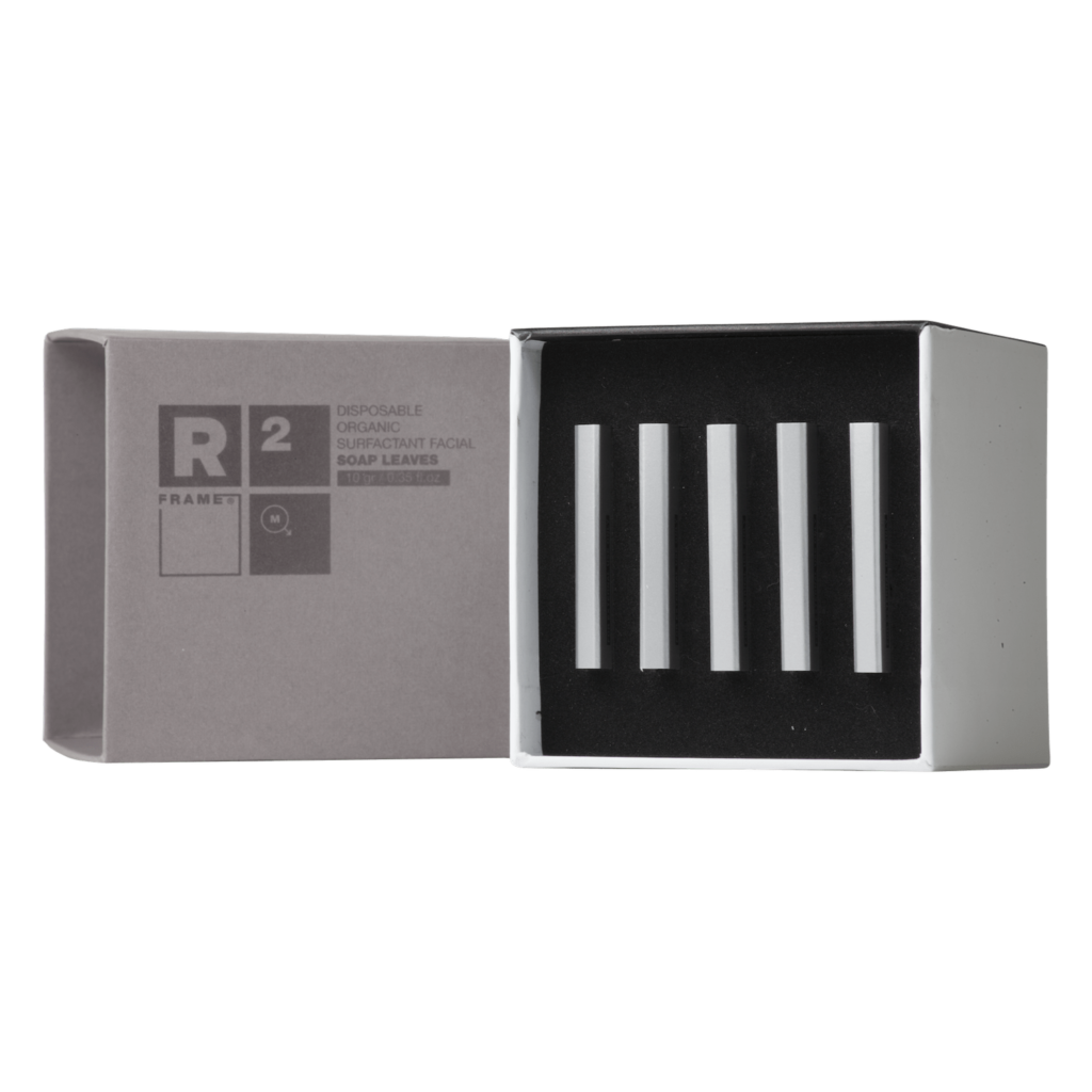 R2 – Disposable Organic Surfactant Facial Soap Leaves
